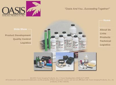 Oasis Imaging Home Page