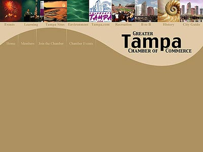 Tampa Chamber of Commerce Home Page